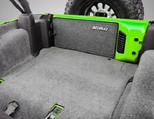 BedRug 5-Piece Rear Cargo Carpet Kit 2011-2016 4-Door Jeep Wrangler JK BRJK11R4