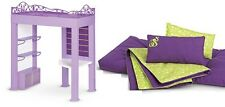 American Girl Doll Mckenna's Loft Bed Frame and Bedding NEW!!