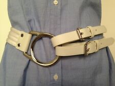 Ralph Lauren Made In Italy Equestrian Purple Label Collection Waist Belt nwot