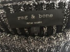 RAG & BONE Black and White Sweater Size L