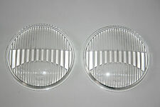 FOR VW KARMANN GHIA TYP 34 SET HELLA FOG LIGHT LENSES GLASS 85783