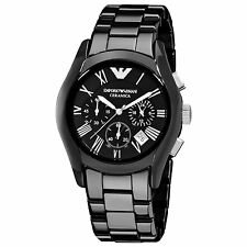 Emporio Armani Ceramica Watch Men's  AR1400 NEW+Original box