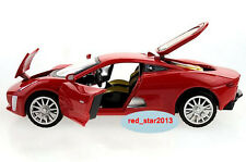 1/32 Diecast Car Alloy Red Jaguar XK  Vehicle Racing Car Model Toy W/light&sound