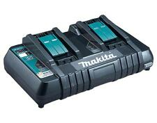 Makita dc18rd (196934-4) 14,4 & 18V LXT Twin Port Chargeur de batterie