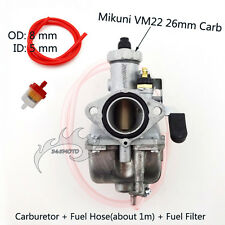 Mikuni Carb VM22 26mm Carburetor Carby For 125 140cc Engine Lifan Pit Dirt Bike