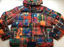 Ralph Lauren RLX Southwestern Serape Patchwork Down Jacket Coat- MEN- M