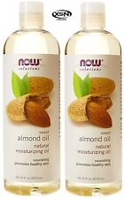 Now Foods 100% Pure Sweet Almond Oil 16 oz x 2 (32 oz) Pure Moisturizing Oil