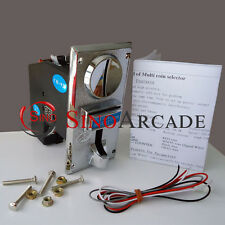 Multi Coin Acceptor for arcade Vending machine accept 4 different types of coins