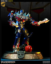 SIDESHOW EXCLUSIVE TRANSFORMERS OPTIMUS PRIME MOVIE Maquette STATUE Bust Figure