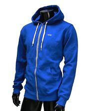 Vans skateboard classic fit Blue Royal Zip up Mens hoodie size Large