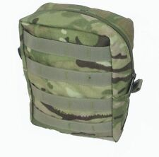 MULTICAM UTILITY POUCH - VERTICAL MILITARY MOLLE POUCH - BRITISH MADE