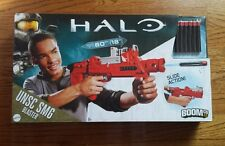 NEW BoomCo HALO UNSC SMG M7 Slide Action Blaster Shoots Up to 60Ft