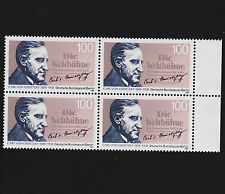 1989 germany Berlin Sc#9N580 Mi#851 Margin Block of 4 MNH