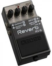 Boss RV-6 Reverb Electric Guitar Effects Pedal RV6