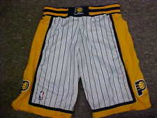 NBA Indiana Pacers 2001-2002 Game Worn White Reebok Basketball Shorts Size: 40