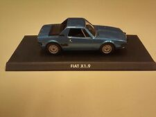 VOITURE 1/43 NOREV FIAT X1.9 MINIATURE COLLECTION ITALIENNE IT3