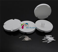 4pcs New Dental Lab Honeycomb Firing Trays + 20 Zirconia Pins + 20Metal Pins