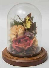 Natural Expressions Bell Jar Cloche Dried Flower Display tob