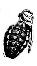 WWI Mk2 PINEAPPLE HAND GRENADE Sticker WWII Military ARMY Foot Locker Decal