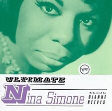 Nina Simone Ultimate-Selected By Dianne Reeves CD NEW SEALED 1997 Verve Jazz