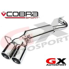 BM66 Cobra Sport BMW 318D & 320D E90 Saloon 05-11 Twin Exit Rear Exhaust Backbox