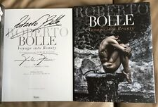 SIGNED 2X Roberto Bolle 'Voyage Into Beauty' 1/1 +great extras!