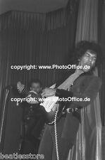 Jimi Hendrix im Star-Club Hamburg 1967, seltenes 30x45cm Konzert Foto Poster