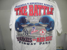 MLB BASEBALL'S GREATEST RIVALRY OF THE CENTURY 1999 ALCS T-SHIRT SIZE XL NWOT