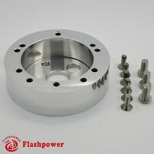 "1"" Billet Extension Hub/ Spacer for 5&6 hole Steering Wheel to 3 hole Adapter"