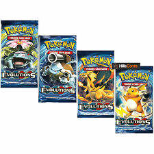 Pokemon: XY-12 Booster Packs evoluciones 4 Sellado-Nuevo Trading Cards for 2016