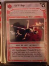 Star Wars CCG Tatooine End Of A Reign NrMint-MINT SWCCG