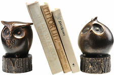 Wide-Eyed Owl Bird Bookends Pair by SPI Home/San Pacific International 50692