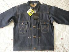 NWT Wrangler Blue Bell Sanforized Jacket 11oz. McCoy's denim Rigid 11MJ Sz38