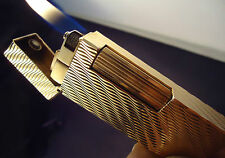 Dunhill Rollagas Lighter - Gold Plated - Serviced/Cased - Feuerzeug - Briquet