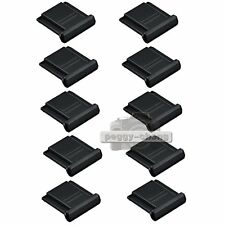 10pcs BS-1 Hot Shoe Cover For Canon Nikon Olympus Panasonic Pentax Camera 10x