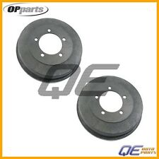 2 Rear Chrysler Sebring Dodge Stratus Mitsubishi Eclipse Galant Brake Drum