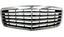 Mercedes Benz W211 Facelift 06-09 Front Grille Grill Chrome AMG Design