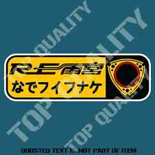 OPTION RE AMEMIYA JDM ROTARY Decal Sticker RE JDM DRIFT RALLY DECALS STICKERS