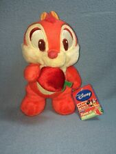 """9"""" Disney Sega Series 3 Apple Flavor Of The Month Chip & Dale NWT Red"""