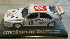 Diecast rally car collection deagostini  CITROEN BX 4TC