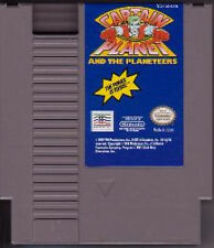 CAPTAIN PLANET AND THE PLANETEERS ORIGINAL CLASSIC NINTENDO GAME SYSTEM NES HQ