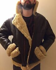 Vintage Sheepskin Flying Jacket MK VI Issues UK