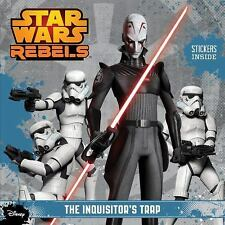 BRAND NEW 2014 PAPERBACK Star Wars Rebels: The Inquisitor's Trap w/ Stickers