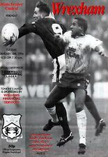 1993/94 Wrexham v Manchester United, Friendly - PERFECT CONDITION