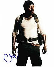 CHAD COLEMAN SIGNED 8X10 PHOTO AUTOGRAPH THE WALKING DEAD SEASON 4 PROMO COA B