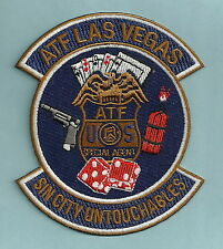 ATF ALCOHOL TOBACCO FIREARMS LAS VEGAS POLICE PATCH