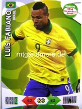 Adrenalyn XL - Luis Fabiano - Brasilien - Road to 2014 FIFA World Cup Brazil