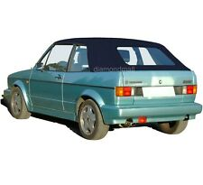 VW Volkswagen Rabbit Cabriolet Golf 1980-1994 Convertible Soft Top Blue German