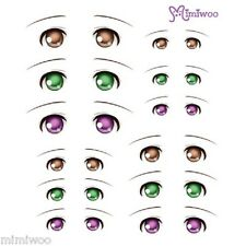 Parabox Obitsu 1/6 bjd Doll Dollfie Head Deco Eye Decal Sticker 07 (12 Pairs)