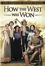 HOW THE WEST WAS WON - SECOND SEASON rare (6 disc) Western dvd JAMES ARNESS 1978